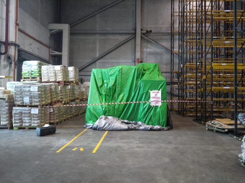 require fumigation of<b>STORED FOOD PRODUCTS?</b>